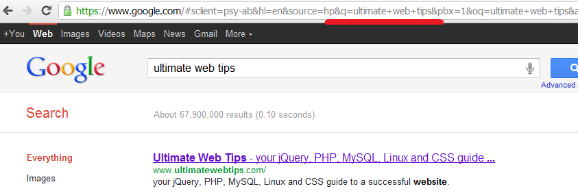 Google SSL search